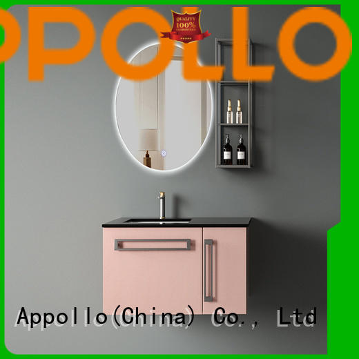 Appollo mirror bathroom cabinet with drawers manufacturers for bathroom