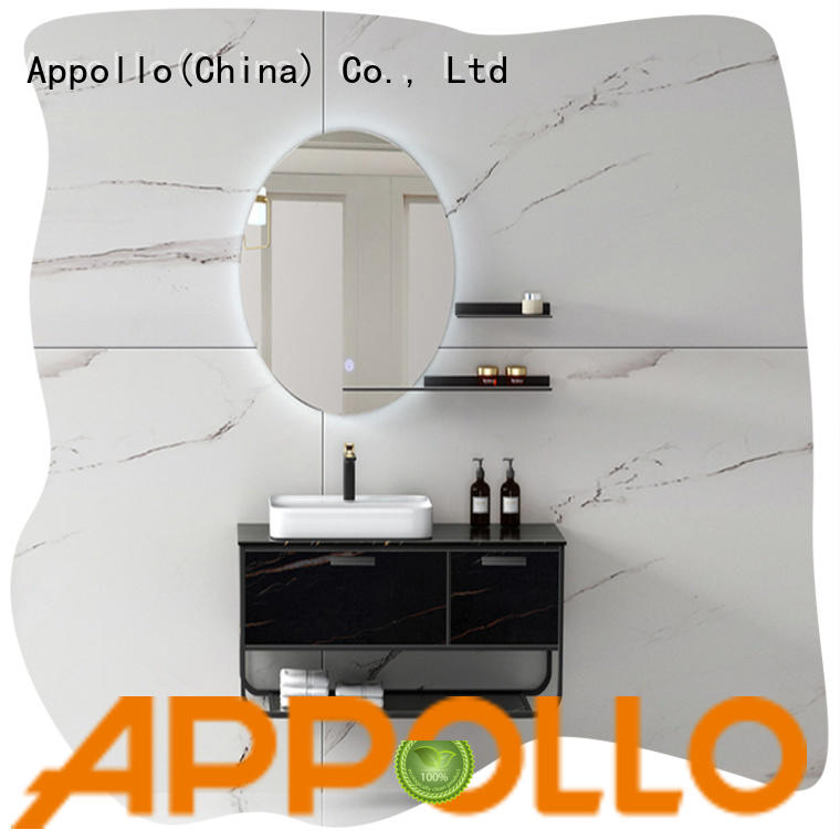 Appollo latest bathroom cabinet manufacturers company for family