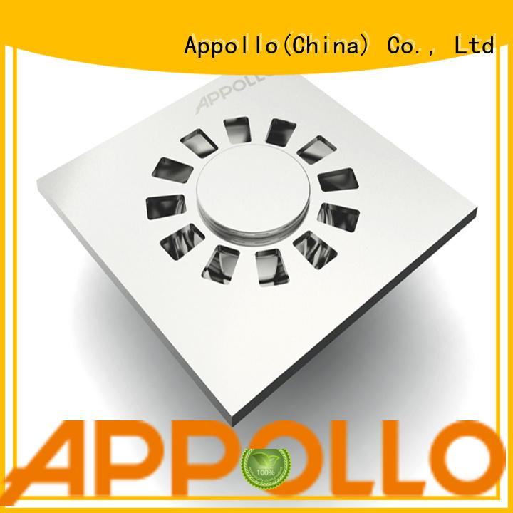 Appollo floor bathroom floor waste manufacturers for hotel
