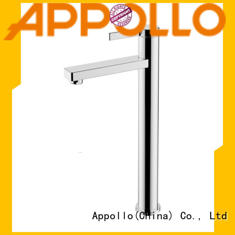 Appollo wholesale single hole bathroom faucet for home use
