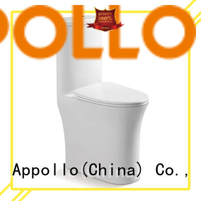 Appollo top dual flush toilet for resorts