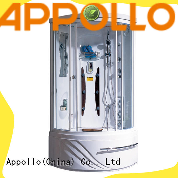 Appollo a0830 rectangular steam shower cabin for business for home use