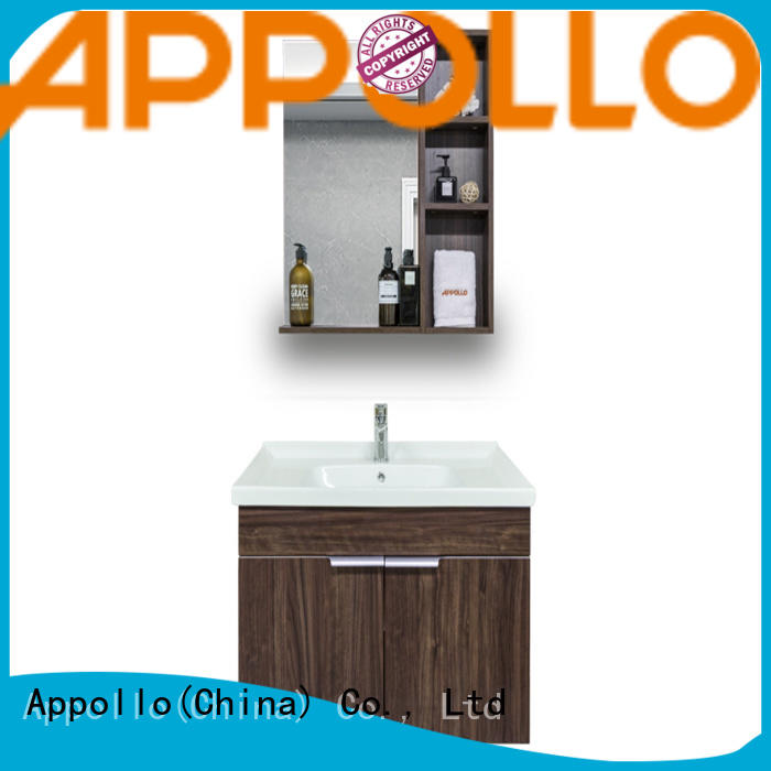 Appollo wholesale bathroom sinks and cabinets factory for home use